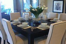 JA decoração mesa sala