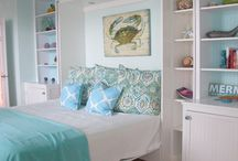 Beach Cottage Bedrooms / Relaxing, bright bedrooms for your coastal retreat or beach cottage