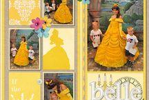 scrapbookin disney princess