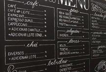 Black menu