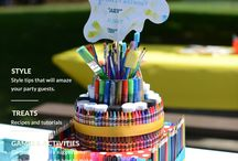 Art party for pre teens
