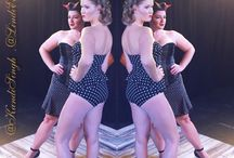 My 40's pinup hair styles / Hair By Lindi Edge Makeup By Kandi Singh Photography By Deanna Haraldson