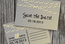 Wedding Inspirations save the date