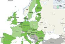 België - Europa - wereld