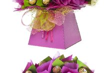bouquets chocolate