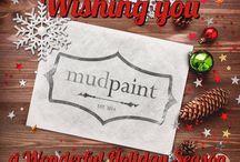 Holiday / MudPaint premium vintage furniture paint holiday pins!