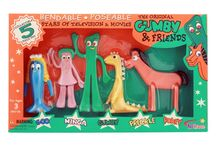 Gumby and Friends / Do you remember the engaging duo of Gumby, an adventurous hero, and his pony pal Pokey? Where Gumby is idealistic, Pokey is skeptical...
