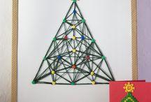 TOPICS-NAVIDAD-TREES / Árboles y árbolitos de navidad. Ideas y tutoriales / by Andaira- Esquemas de Bisutería y Manualidades