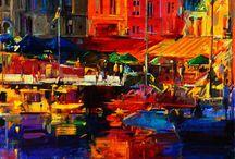 Peter Graham Gemälde / Peter Graham hat einen Ruf als einer begabtesten und kennzeichnenden Modernen Farbenkünstlern von Großbritanniens verdient, ein Mitglied von ROI. Der Künstler hat einen extravaganten und unverwechselbaren Stil, der einzigartig ist - detaillierte Pinselführung in Kombination mit losen flüssigen Pinselstriche schafft lebendige Kontraste reiner intensive Farbe, Linie und Ton. Sie können diese Werke, die mit der Farbe voll sind auf WahooArt.com kaufen.