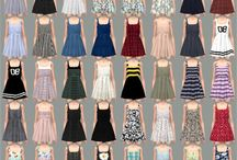 Sukienki ts4 cc