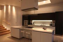 Kitchen Lighting / Kitchen lighting design by John Cullen Lighting