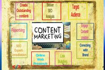 Content marketing Services / We build audience for your brand that convert into sales.