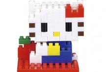Hello Kitty nanoblock® / Découvrez la gamme nanoblock Hello Kitty avec #nanoblock  http://www.my-nanoblock-fr.com/fr/21-hello-kitty