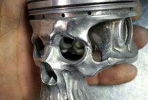 Piston squelette