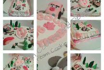 My Cakes / Minecraft cake