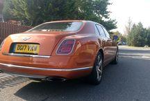 Bentley Mulsanne Speed Orange Flame