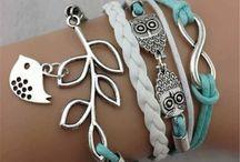 Bracelets, Infinity Bracelets, Pearl, Charm Bracelet / Bracelets, Infinity Bracelets, Pearl, Charm Bracelet