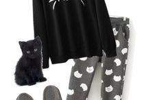 Cat pjs