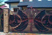 Swing Gates Wrought / Swing gates wrought