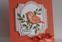 Cards with Birds/Bird Houses