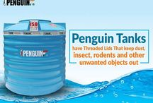 Penguin Tank / Penguin Tank is a water storage tank brand that produces tanks having air-tight closure & threaded lid design for domestic & commercial use in West Bengal, India.