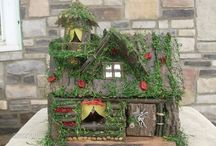 Fairy houses / by Tamra Miller