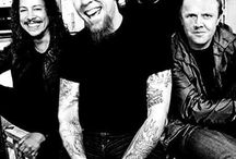 Metallica / my band, I saw them once in Finland and once in Denmark. I love them. they play my music. I have even tattoo of the one song: Nothing else matters. I love this song........ I just love it.