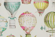 Hete lucht ballon / Hot air balloon