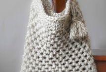 Crochet string bags