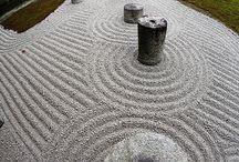 Zen garden / Japanese garden