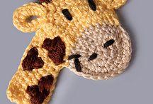 Apliques crochet / by Barbara Ferrada Villagran