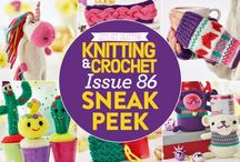 Issue 86 of LGC Knitting & Crochet magazine / Are you in need of some last minute pressie ideas? LGC to the rescue! Issue 86 is bursting with original, exclusive patterns to suit everyone! From magical unicorns to more traditional decorations, we'll lead you every step of the way with our easy-to-follow patterns.