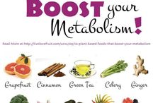 Metabolism Boosters / Just to get that little kick