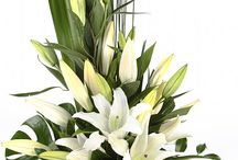 Asiatic lily arrangements