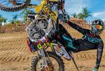 Motocross em ação