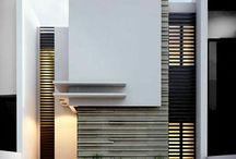 deur en garageafwerking met latjes inspiratie