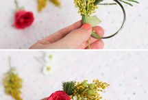 Floral design / How to create floral arrangements, great ideas