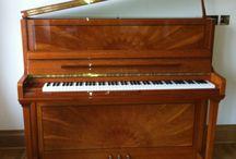 Schulze Pollmann Pianos / Chiltern Pianos, Bovingdon, Herts, supply new Schulze Pollmann Uprights and Grands