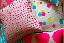 Fabrics, cushions & rugs