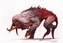 Creature Concept Art / Epic Creature concepts