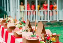The Perfect Summer Soiree / Inspiration for a summer soiree event.