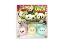 Nori Punch / Des perforatrices à Nori qui vous permettront de mettre en forme cette petite feuille d'algue japonaise pour décorer vos aliments.