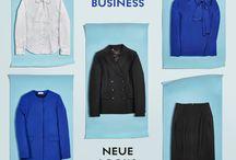 """Modern Business / Chic im Büro und in der Geschäftswelt: Unser Trend """"Modern Business"""" ergänzt die bewährte Kombi aus Schwarz und Weiß mit elektrisierenden Akzenten in royalem Blau und neuen, spannenden Silhouetten! Unsere Labels WEEKEND MAX MARA, ST. EMILE, TARA JARMON und natürlich BOSS liefern die perfekten Business-Outfits für Damen. ► http://bit.ly/KONEN-Modern-Business-Damen-Pin"""