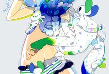 cute girl illustration