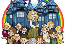 Carton River Song and the Doctors Disnej