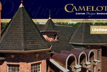 GAF Camelot Shingles / GAF's Camelot shingles give the appearance of slate
