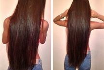 Straight hair / Hair I wish to have.
