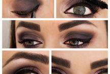 Machiaj / Smokey eyes