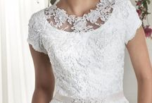 Bonny Bridal Bliss / Stylish twists of traditional silhouettes make our sleeved gowns elegant and timeless.