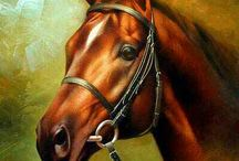 dibujos caballos